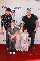 Bill Horn, Scout Masterson with Tori Spelllings kids<br />