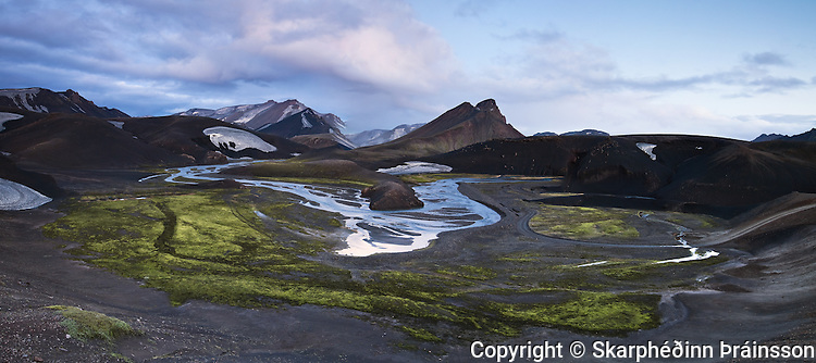 Fjallabaksleið Nyrðri, highlands of Iceland