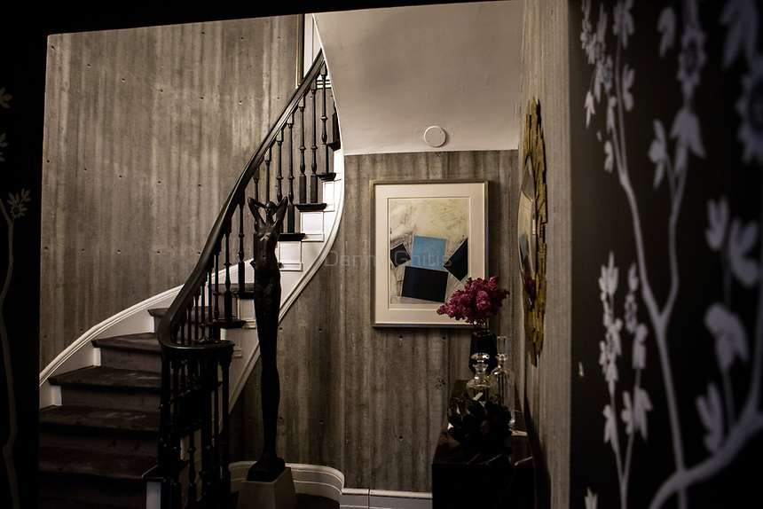 Design by Scarpidis Design at The 45th Kips Bay Decorator Show House, at 125 East 65th St. <br /> <br /> Danny Ghitis for The New York Times