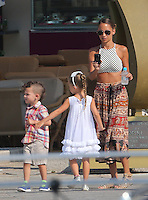 """Nicole Richie, Joel Madden & kids on vacation in Corsica aboard the """"Alibi""""yacht - Exclusive"""