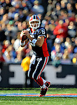 19 October 2008:  Buffalo Bills' quarterback Trent Edwards in action against the San Diego Chargers at Ralph Wilson Stadium in Orchard Park, NY. The Bills defeated the Chargers 23-14 and maintain their first place position in the AFC East with a 5 and 1 record...Mandatory Photo Credit: Ed Wolfstein Photo