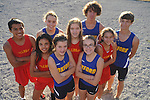 Cross Country runners who earned all-state recognition this season are FRONT (l. to r.) Oxford's Emily Hankins and Oxford's Audrey Dayan ; MIDDLE (l. to r.) Lafayette's Esmeralda Rodriguez, Rachel Starnes, and Manon Mullen; BACK (l. to r.) Lafayette's Jose Rodriguez and Oxford's Callie Mayo, Fischer Austin and Lucian Duchaine. They were photographed in Oxford, Miss. on Wednesday, December 1, 2010.