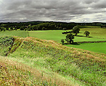 Old Oswestry Hillfort. Oswestry Shropshire England. Celtic Britain published by Orion