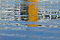Abstract River Reflections - Bridge Reflections on the Rivers around Pittsburgh