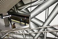 Peter Kogler - Karlsplatz Subway Station