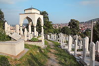 Cemetery, Sarajevo, Bosnia and Herzegovina. Picture by Manuel Cohen