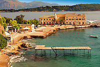 Corfu Old Town Harbour, Greek Ionian Islands