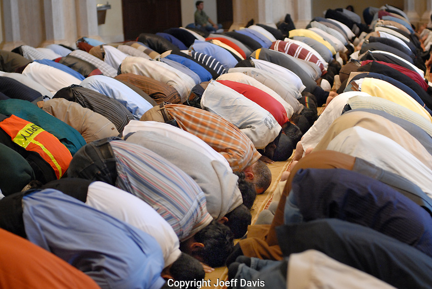 Friday prayer at Al-Farooq Masjid in Atlanta
