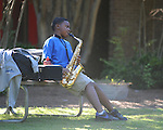 oes-saxophone player