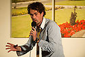 Harrogate, UK. 13.09.2012. Sitting Room Comedy presents Tom Allen, Paul F. Taylor and Mitch Benn, with MC Tom Taylor. Picture shows: Paul F. Taylor. Photo credit: Jane Hobson