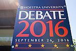 David Axelrod, Hofstra Debate 2016