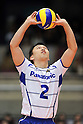 Daisuke Usami (Panthers), MARCH 5, 2011 - Volleyball : 2010/11 Men's V.Premier League match between Toyoda Gosei Trefuerza 1-3 Panasonic Panthers at Tokyo Metropolitan Gymnasium in Tokyo, Japan. (Photo by AZUL/AFLO).