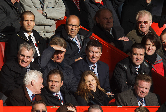 Craig Whyte in the directors box