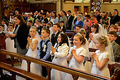 First communion in St Peters