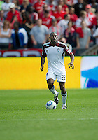 17 September 2011: Colorado Rapids defender Marvell Wynne #22 in action during an MLS game between the Colorado Rapids and the Toronto FC at BMO Field in Toronto, Ontario Canada..Toronto FC won 2-1.