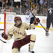 Johnny Gaudreau (BC - 13) - The Boston College Eagles defeated the Northeastern University Huskies 6-3 on Monday, February 11, 2013, at TD Garden in Boston, Massachusetts.