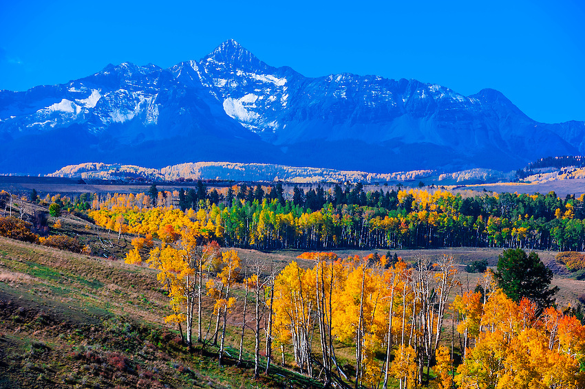 Mount Wilson, San Juan Mountains, near Telluride, Colorado USA.
