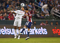 CD Chivas USA defeated Toronto FC 3-0 during a MLS game at Home Depot Center stadium in Carson, California on September 24, 2011.