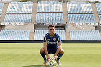 Getafe's new player Stefan Scepovic.