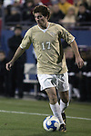 12 December 2008: Cody Arnoux (17) of Wake Forest.  The Wake Forest University Demon Deacons were defeated by the University of North Carolina Tar Heels 0-1 at Pizza Hut Park in Frisco, TX in an NCAA Division I Men's College Cup semifinal game.