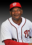 25 February 2011: Jose Martinez, Field Staffer for the Washington Nationals, poses for his portrait on Photo Day at Space Coast Stadium in Viera, Florida. Mandatory Credit: Ed Wolfstein Photo