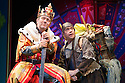 London, UK. 26.07.2012. Monty Python's SPAMALOT, the hit musical lovingly ripped off from Monty Python and the Holy Grail opens at the Harold Pinter Theatre. Picture shows:  Jon Culshaw and Todd Carty. Photo credit: Jane Hobson.