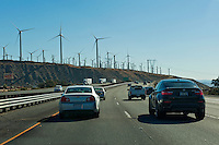 Interstate, 10, (I-10) Palm Springs, CA, Wind, Turbines, Whitewater, North Palm Springs