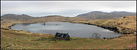 BNPS.co.uk (01202 558833)<br /> Pic: GeoffAllan/BNPS<br /> <br /> This medium sized bothy sleeps 4 and is located Leacraithnaich by a loch on an ancient site.<br /> <br /> Views with rooms. - New book reveals the remote 'bothies' that lie hidden in some of Britain's most spectacular locations.<br /> <br /> Nestled away in the beautiful remote wilderness of Scotland are a network of secluded mountain huts - known as bothies - where walkers can stay the night before heading to pastures new.<br /> <br /> What is so special about these quaint outposts in some of the most idyllic and untouched landscapes north of the border is that they are completely free to use.<br /> <br /> As a result, the location of many bothies has been a closely guarded secret with visitor centres reluctant to advertise their whereabouts for fear they become overcrowded.<br /> <br /> But in his new book, The Scottish Bothy Bible, author and photographer Geoff Allan has listed more than 80 of them in a bid to make them known to a wider audience.