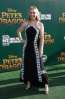 HOLLYWOOD, CA- AUGUST 8:  Beverley Mitchell at the Disney premiere of 'Pete's Dragon' at El Capitan Theater in Hollywood, California, on August 8, 2016. Credit: David Edwards/MediaPunch
