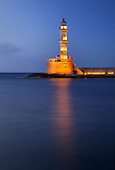Lighthouse at Chania, Crete, Greece