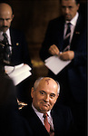 Mikhail Gorbachev in Washington, DC on 1 June 1990.