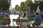 Jardin des Tuileries Gardens, Paris, France