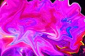 Fine art photo of color splash