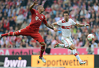 FUSSBALL   1. BUNDESLIGA  SAISON 2012/2013   2. Spieltag  02.09.2012 FC Bayern Muenchen - VfB Stuttgart       Martin Harnik (re, VfB Stuttgart) gegen Jerome Boateng (FC Bayern Muenchen)