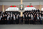 Druze Sheikhs celebrate Syria's Independence Day, in the village of Bukata, Golan Heights.