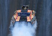 Jun 18, 2016; Bristol, TN, USA; NHRA pro mod driver Von Smith during qualifying for the Thunder Valley Nationals at Bristol Dragway. Mandatory Credit: Mark J. Rebilas-USA TODAY Sports
