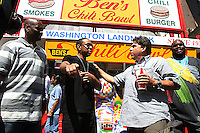 Ludacris @ Ben's Chili Bowl 4-6-10
