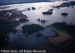 Aerial of Pymatuning Reservoir (Lake), Crawford County, PA