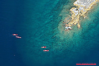 Abstract Maltese islands landscape aerials