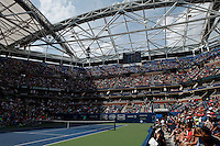 People attend the 2015 U.S. Open tournament kids day at the Ashe stadium New York City 08/29/2015. Kena Betancur/VIEWpress