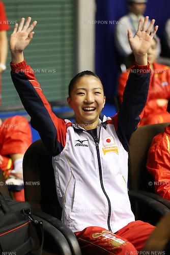 Asuka Teramoto (JPN), .April 7, 2013 - Artistic Gymnastics : .FIG Artistic Gymnastics World Cup, Tokyo Cup 2013 .Women's Individual All-round 2nd Day .at Komazawa Gymnasium, Tokyo, Japan. .(Photo by Daiju Kitamura/AFLO SPORT)