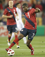 Maurice Edu(7)vof the USA MNT during an international friendly match against Paraguay at LP Field, in Nashville, TN. on March 29, 2011.Paraguay won 1-0.