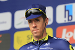 Mathew Hayman (AUS) Orica-Scott team presented to the crowd before the start of the 60th edition of the Record Bank E3 Harelbeke 2017, Flanders, Belgium. 24th March 2017.<br /> Picture: Eoin Clarke | Cyclefile<br /> <br /> <br /> All photos usage must carry mandatory copyright credit (&copy; Cyclefile | Eoin Clarke)