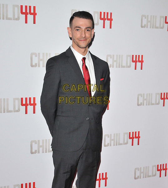LONDON, ENGLAND - APRIL 16: Josef Atlin attends the &quot;Child 44&quot; UK film premiere, Vue West End cinema, Leicester Square, on Thursday April 16, 2015 in London, England, UK. <br /> CAP/CAN<br /> &copy;Can Nguyen/Capital Pictures