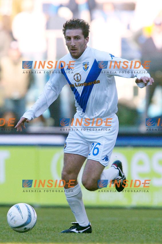 Roma 11/1/2004 <br /> Lazio Brescia 0-1 <br /> Jonathan Bachini<br /> Photo Andrea Staccioli Insidefoto
