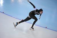 OLYMPICS: SOCHI: Adler Arena, 11-02-2014, 500m Ladies, Heather Richardson (USA), ©foto Martin de Jong