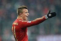 FUSSBALL   1. BUNDESLIGA  SAISON 2012/2013   17. Spieltag FC Bayern Muenchen - Borussia Moenchengladbach    14.12.2012 Xherdan Shaqiri (FC Bayern Muenchen)