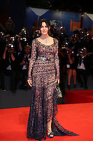 VENICE, ITALY - SEPTEMBER 09: Monica Bellucci attends the premiere of 'On The Milky Road' during the 73rd Venice Film Festival a Sala Grande on September 9, 2016 in Venice, Italy.<br /> CAP/GOL<br /> &copy;GOL/Capital Pictures /MediaPunch ***NORTH AMERICA AND SOUTH AMERICAS ONLY***