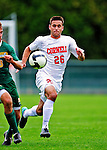 12 September 2010: Cornell University Big Red forward Will Ogden, a Junior from Armonk, NY, in action against the University of Vermont Catamounts at Centennial Field in Burlington, Vermont. The Catamounts edged out the Big Red 2-1. Mandatory Credit: Ed Wolfstein Photo