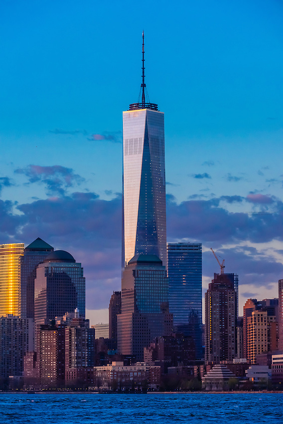 One World Trade Center, New York, New York USA.